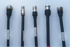 common connectors for rf jumper cable