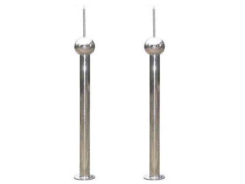 Optimized Stainless Steel Lightning Rod