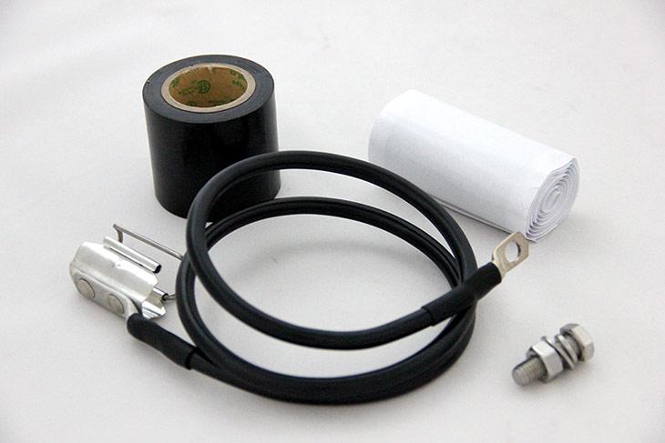 clip on grounding kit snap in grounding kit
